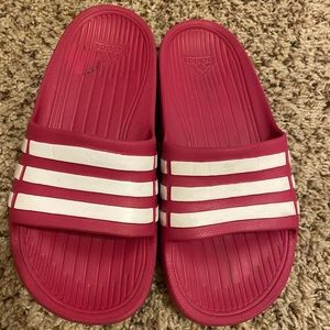 5 for $20 Bundle Deal:: Pink Adidas Slippers